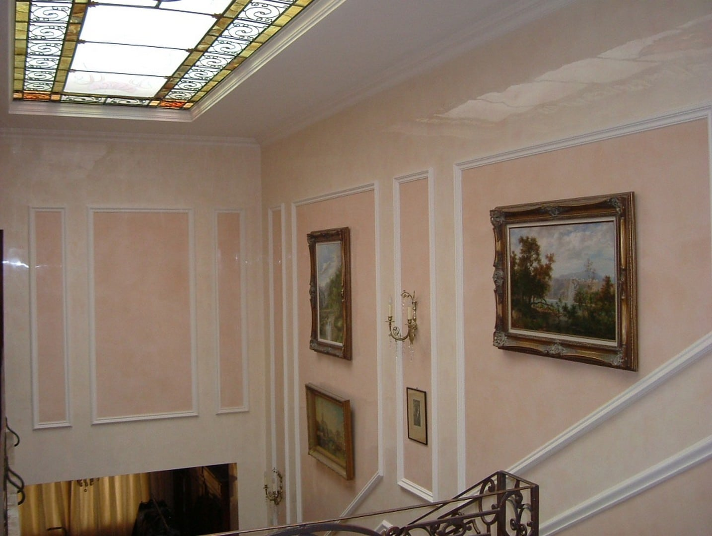 Stucco interior
